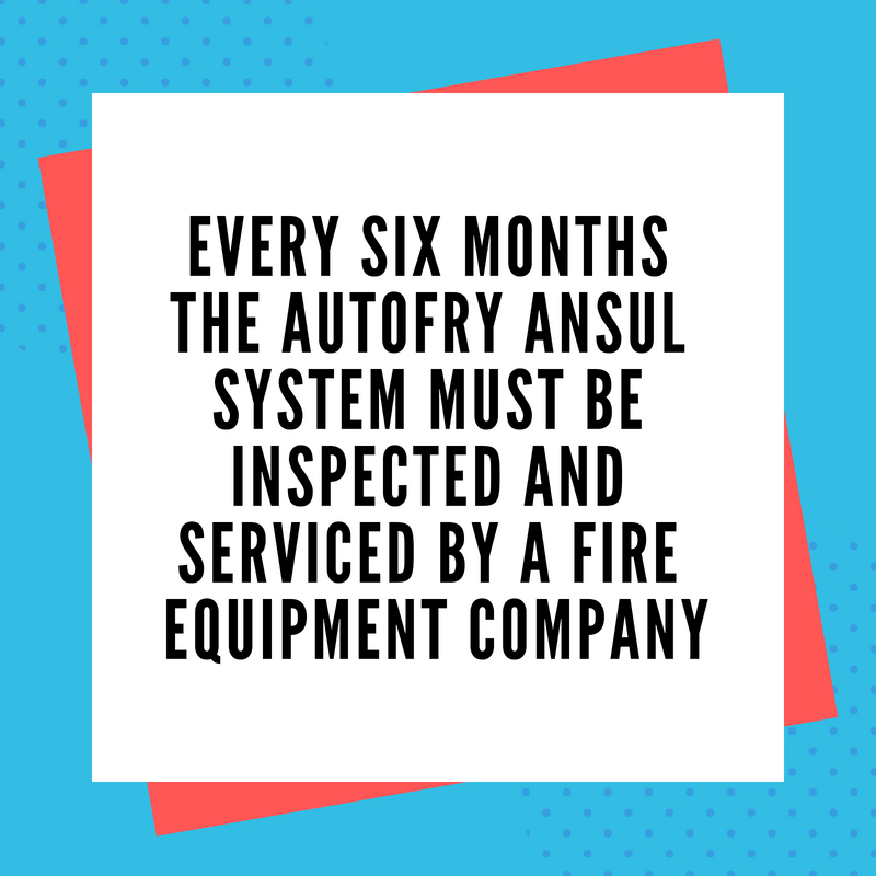 AutoFry Fire Suppression System: Keeping Our Customers Safe for Over 25 Years!