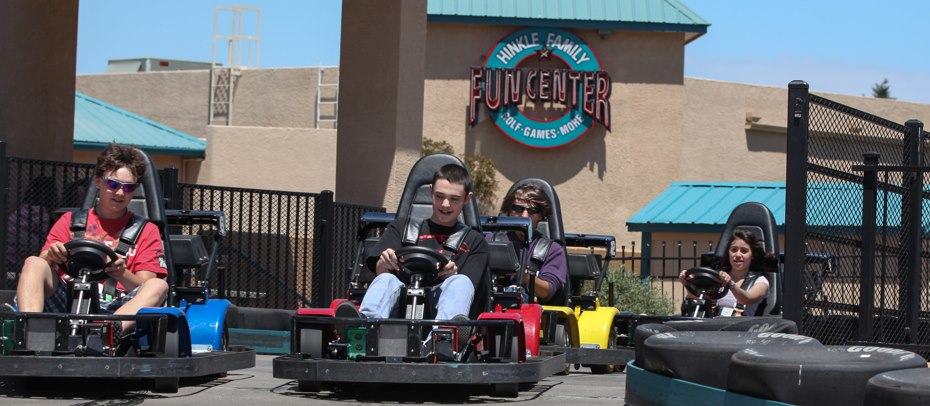 AutoFry in Action   Hinkle Family Fun Center