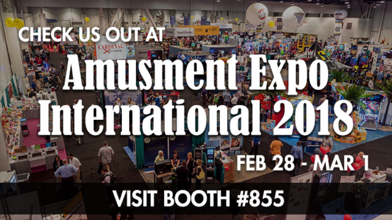 Catch you at the 2018 Amusement Expo!