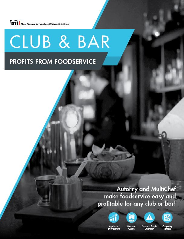 Industry Spotlight: Bar and Club Foodservice Made Easy