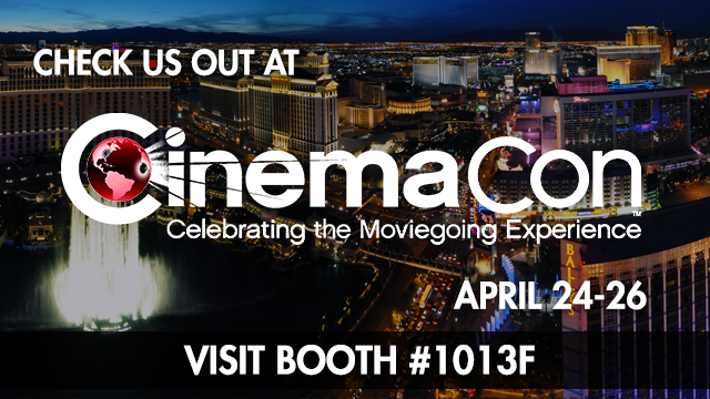 See you at the 2018 CinemaCon Trade Show!
