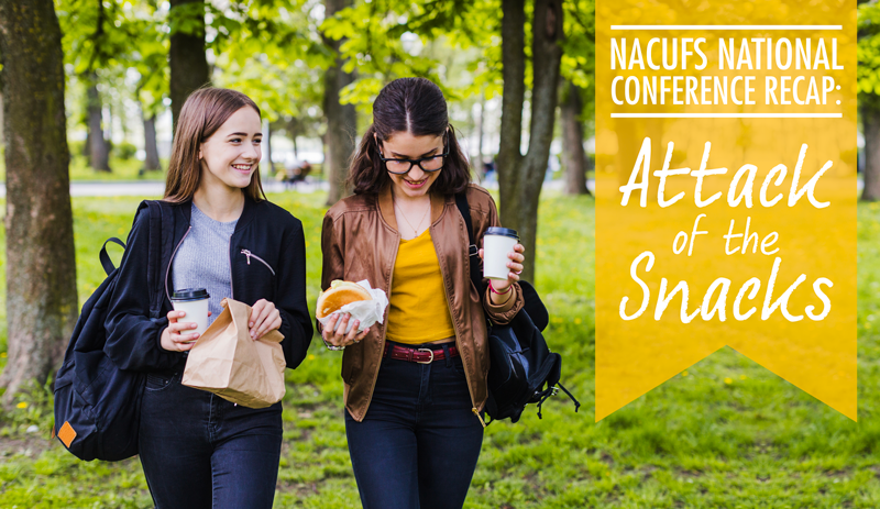 Attack of the Snacks: Reflecting on NACUFS and the Snacking Trend