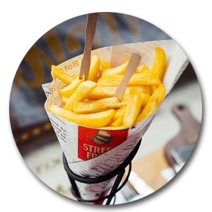 Eight Styles of French Fries