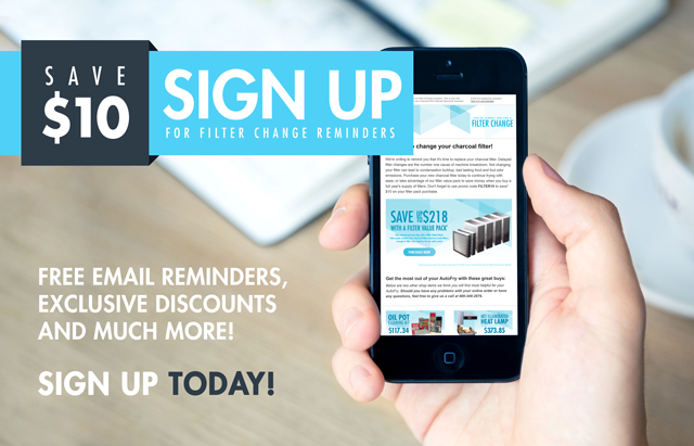 Sign Up for Filter Change Reminders and Save!