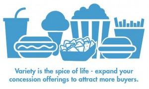 Five Ways to Increase Concession Profits