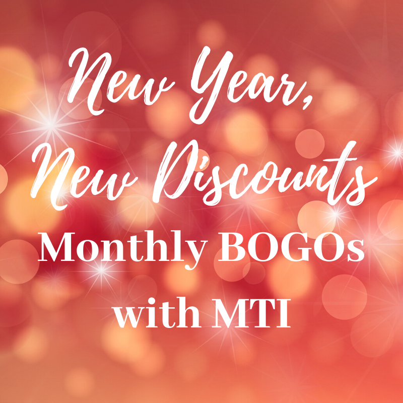New Year, New Discounts: Monthly BOGOs with MTI