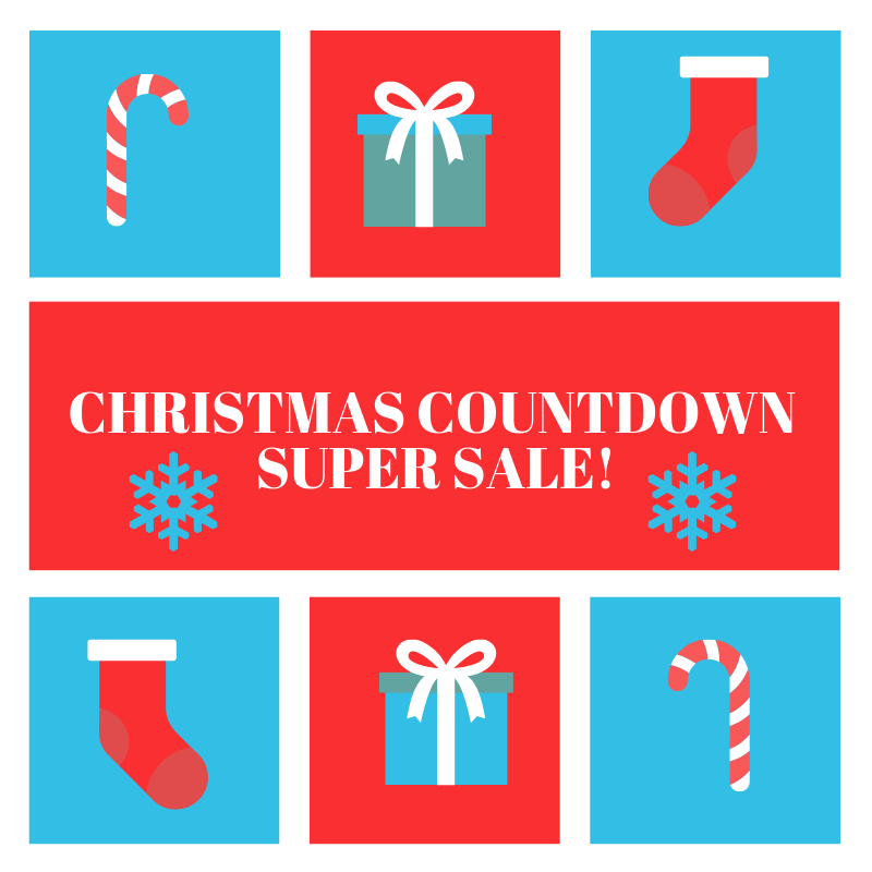 Christmas Countdown Super Sale